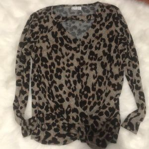Leopard print maurices too small